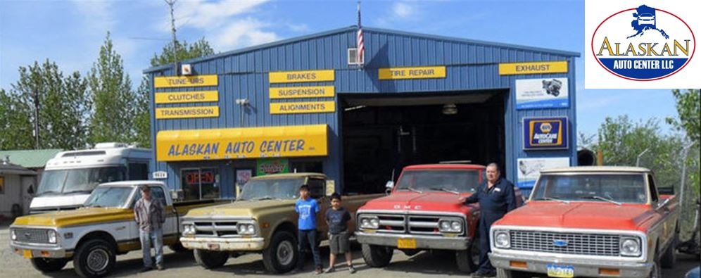 Shop used for auto repair service in Anchorage, AK