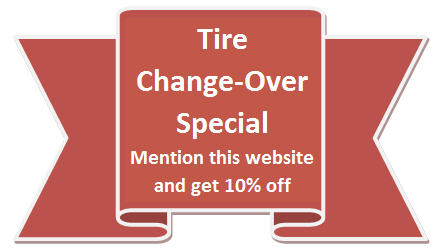 Tire change-over special