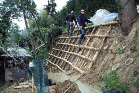 bonifica pareti rocciose, manutenzione aiuole, impresa giardinaggio