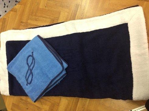 Asciugamani con ricamo personalizzato