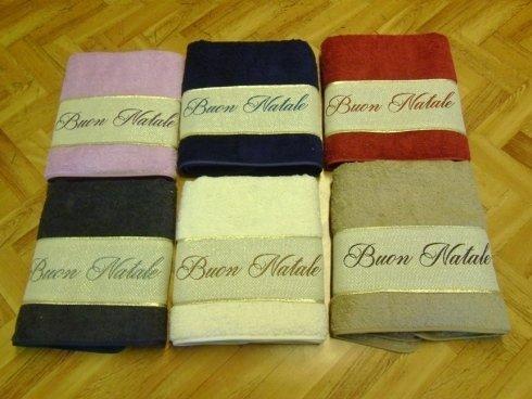 asciugamani buon natale