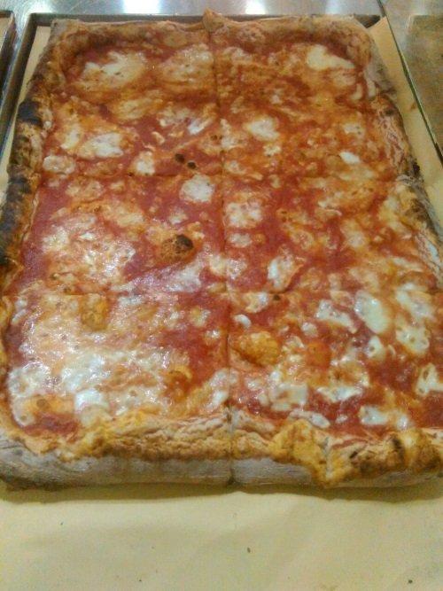 tranci di pizza margherita
