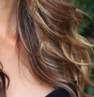 Blending sul capello lungo e diritto