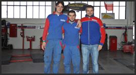 staff pneumatici officina