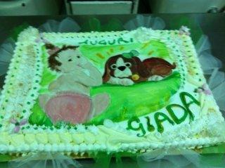torta di compleanno bambina