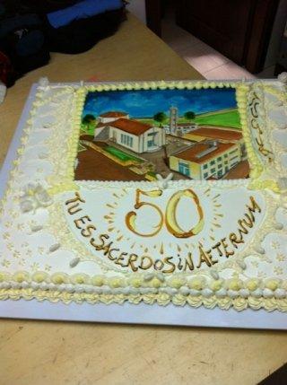 torta per cinquanta anni