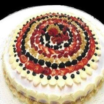 torta con frutta di stagione