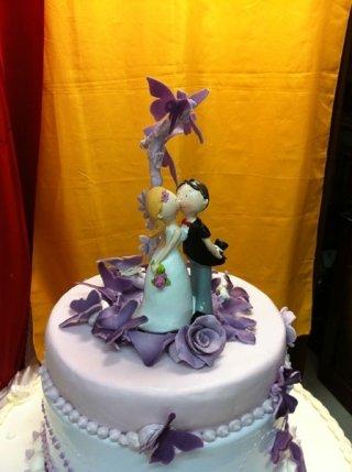torta nuziale particolare
