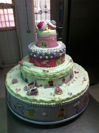 torta a fantasia per bambino