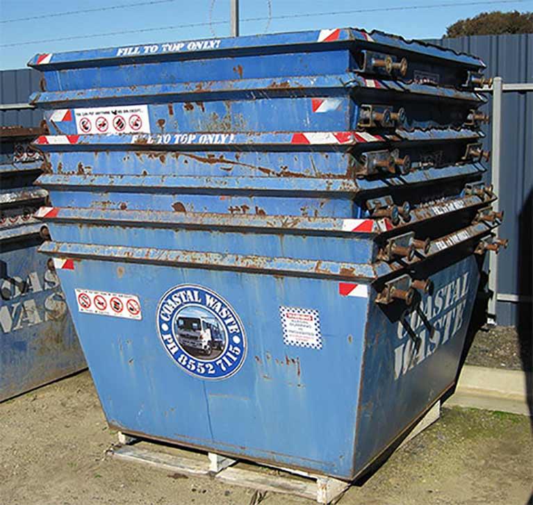 piled-skip-bins