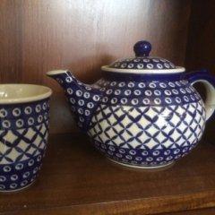 teiera, tazza,tè, tea