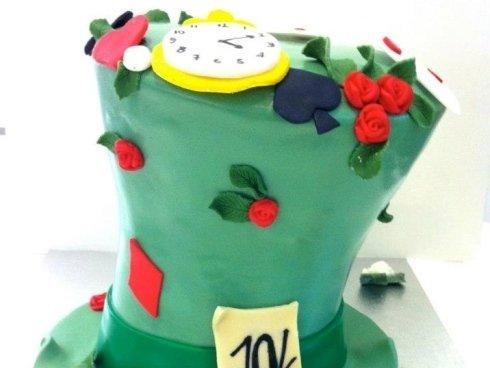 Torta di Alice realizzata da per noi da Made Creative Bakery