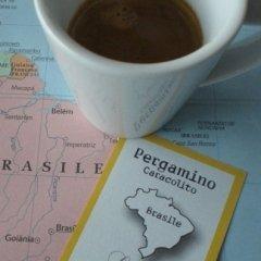 caffè,Pergamino Caracolito , gustotop rossetto, caffè monorigine, brasile