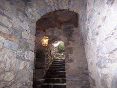 Scala di pietra antica