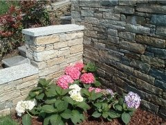 Muri in pietra a vista