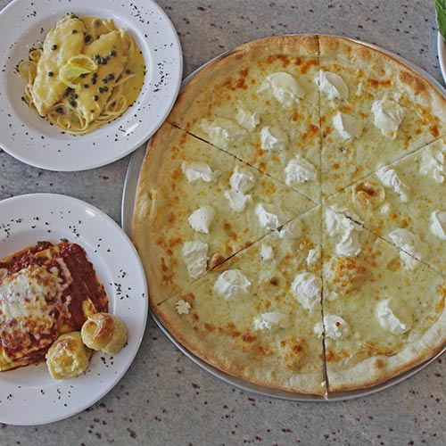 Itlaian Dishes and Pizza