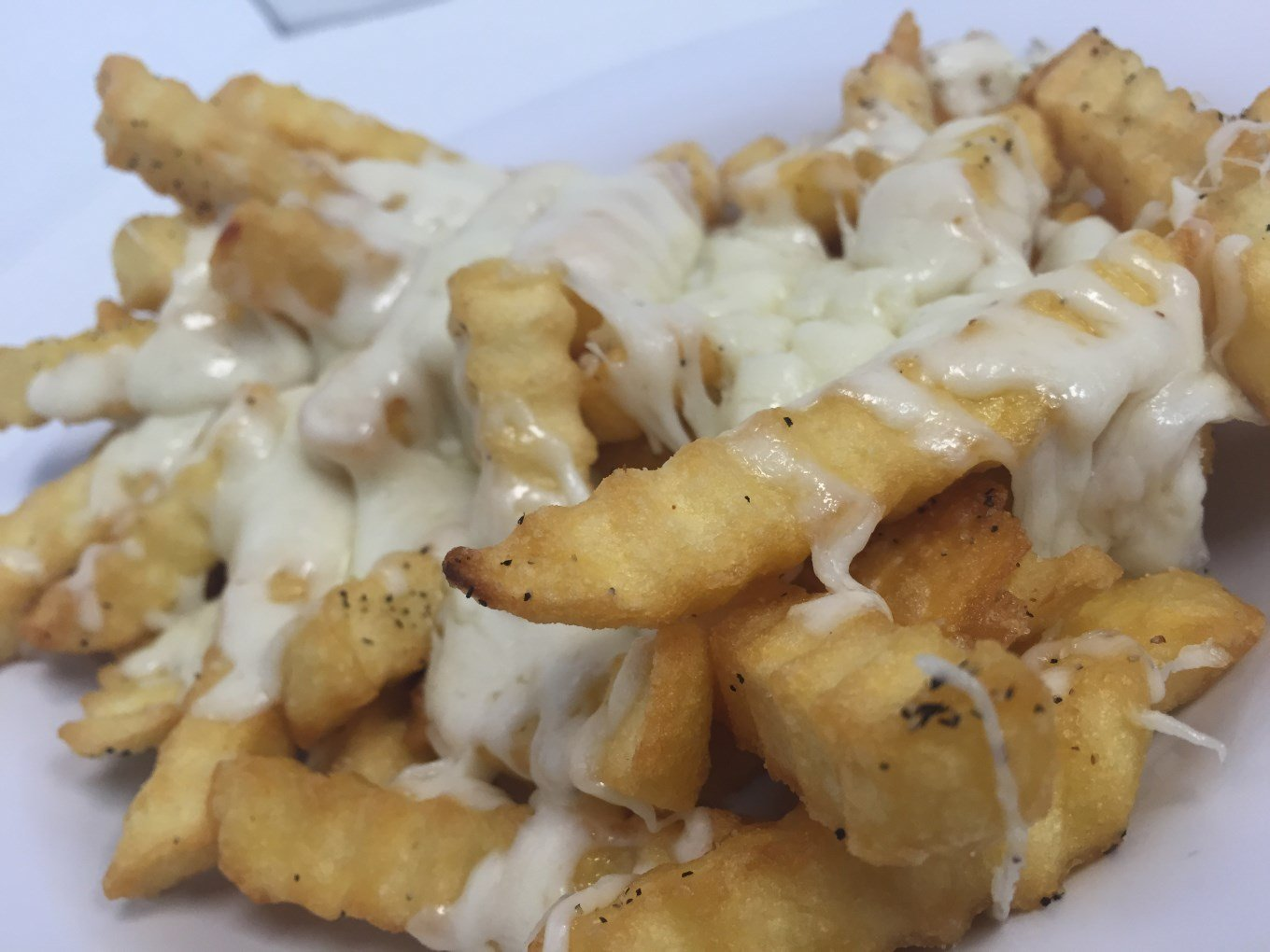 french fries with Cheesy