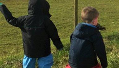children in an activity