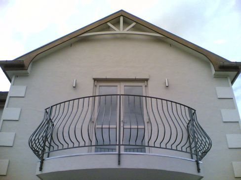 Wrought iron products such as balcony in Auckland