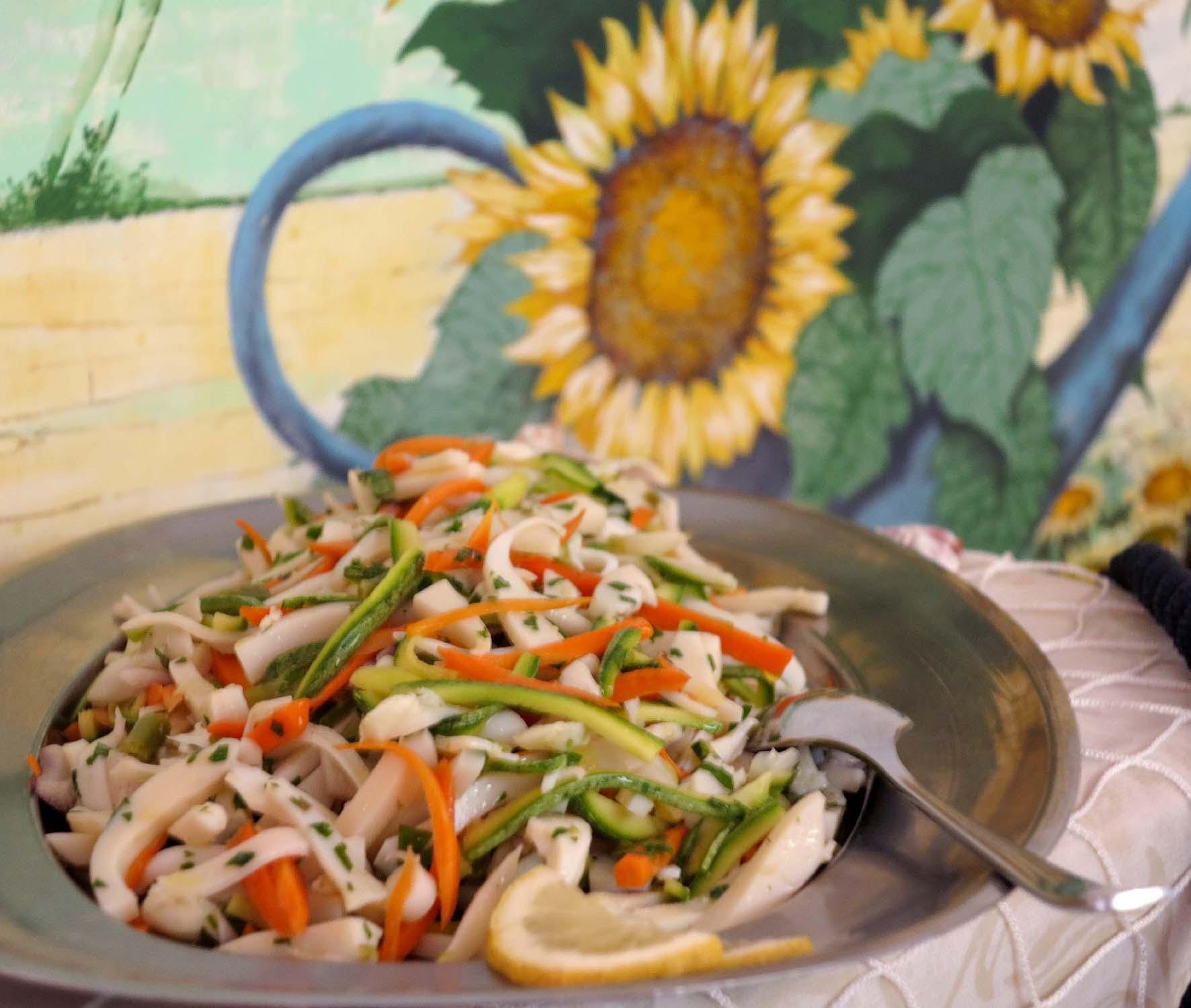 insalata con verdure