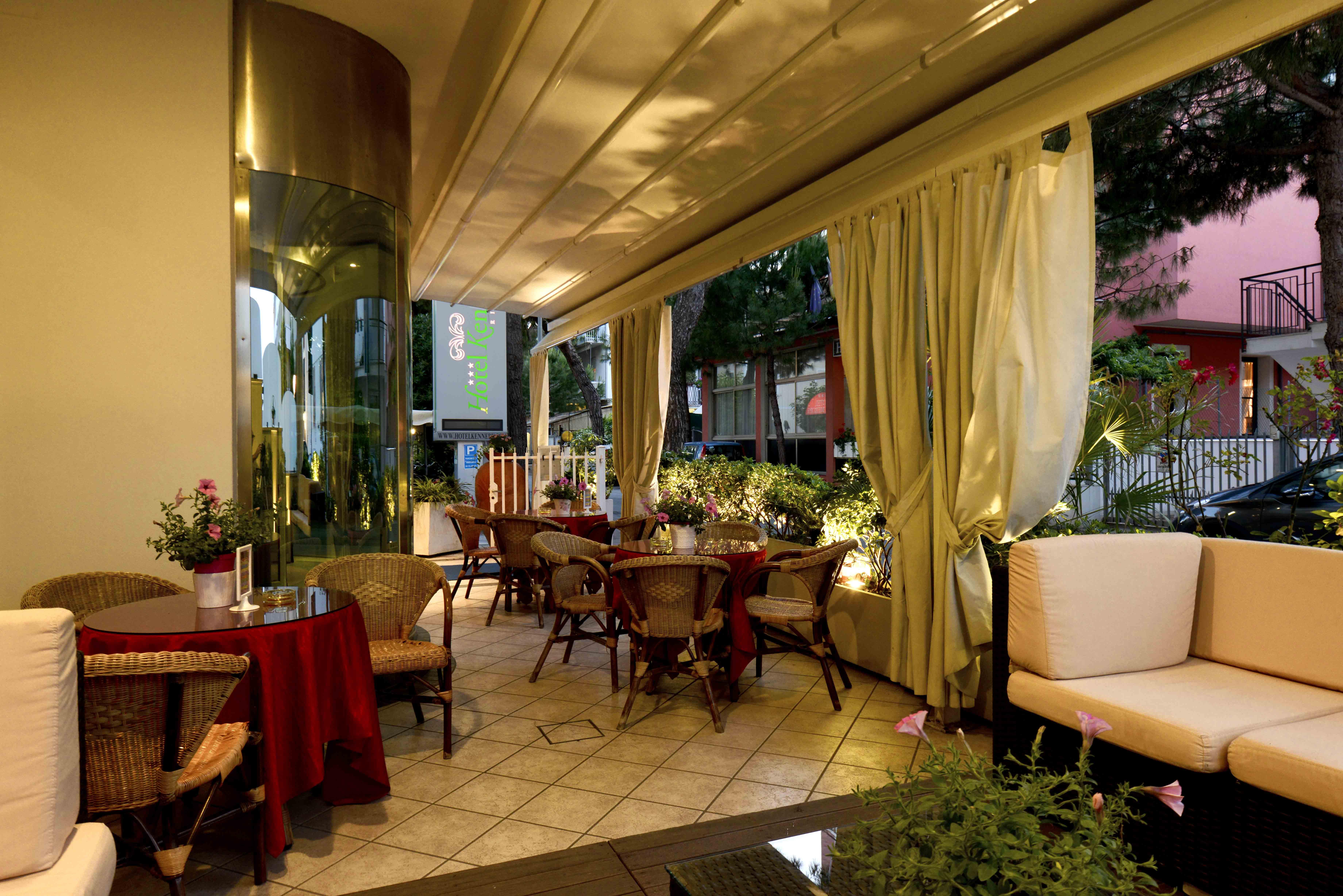 vista di albergo 3 stelle Rimini