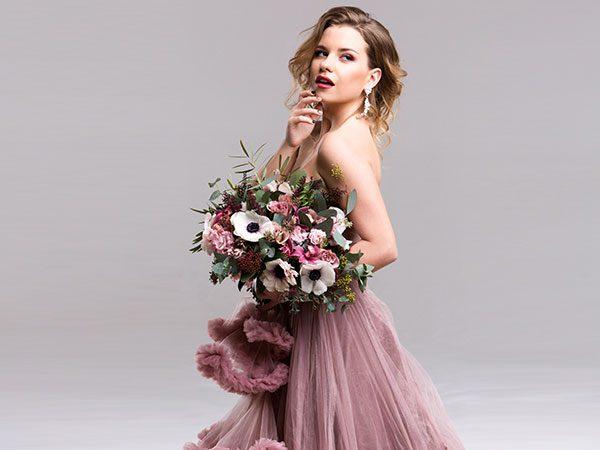 c265ebd65e83 L abito da sposa … colorato