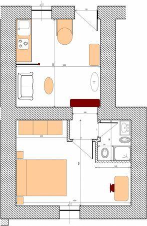 planimetria di un appartamento