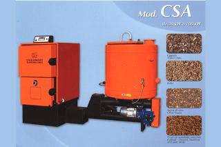 caldaia modello CSA
