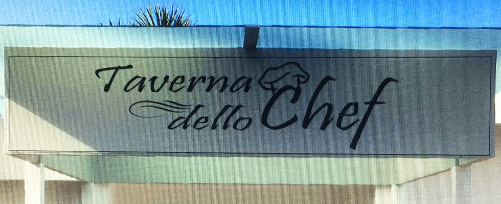 insegna Taverna dello Chef a Bacoli