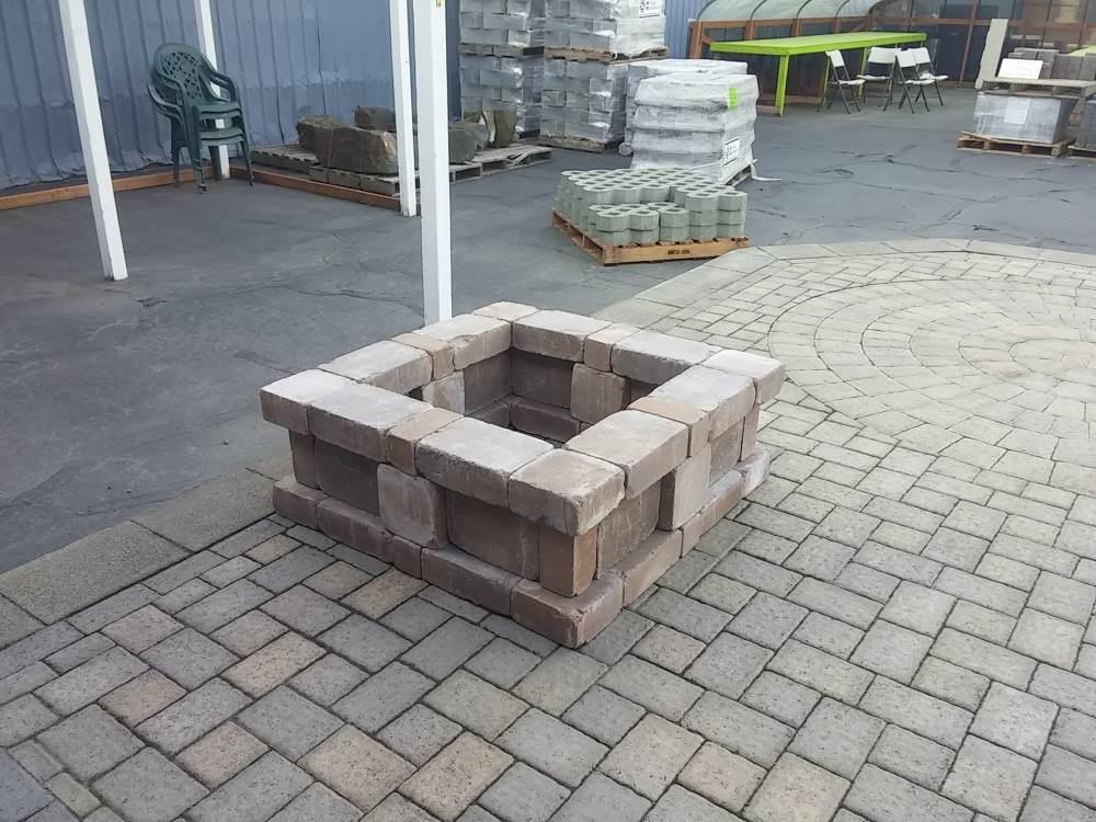 Bricks in a square form