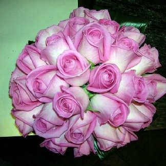 bouquet rose compatto