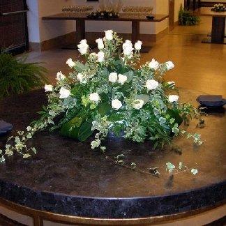 cesto floreale rose