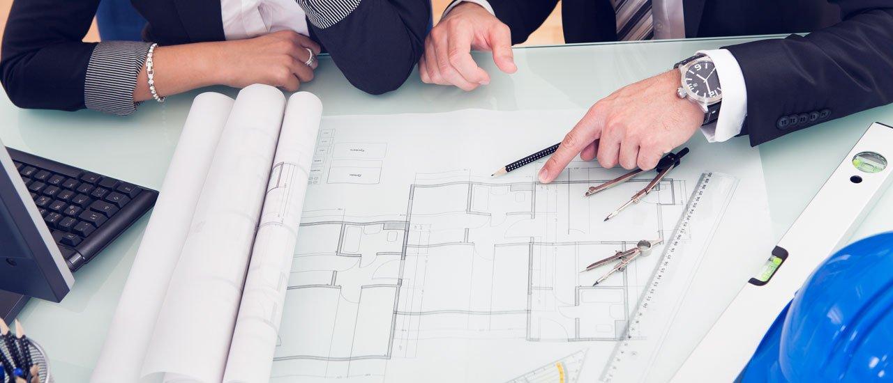 architect designing