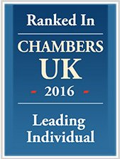 Ranked in Chambers UK 2016 icon