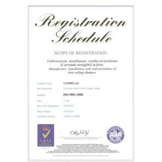 certificazioni Osma