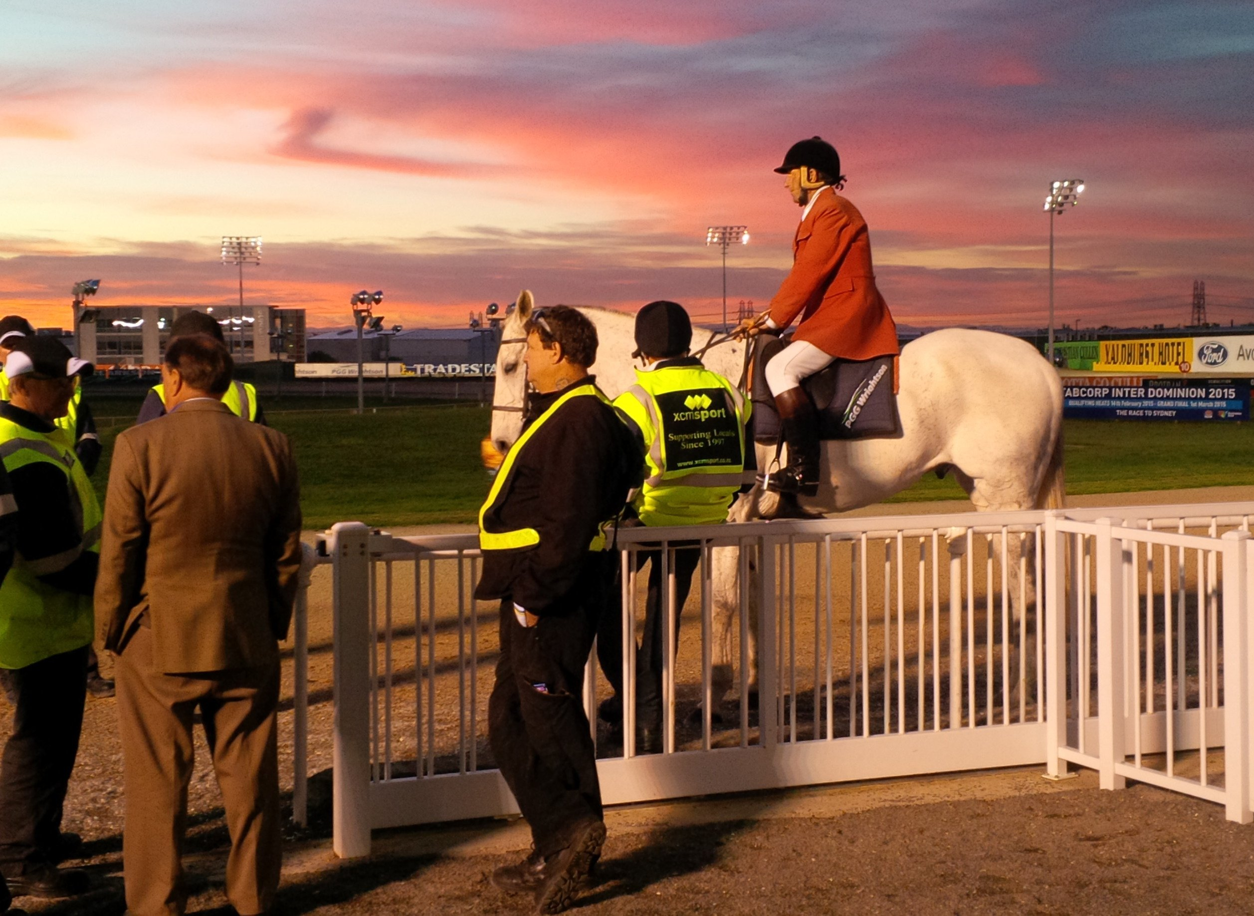 Canterbury racecourses in Canterbury where we provide equine veterinary services