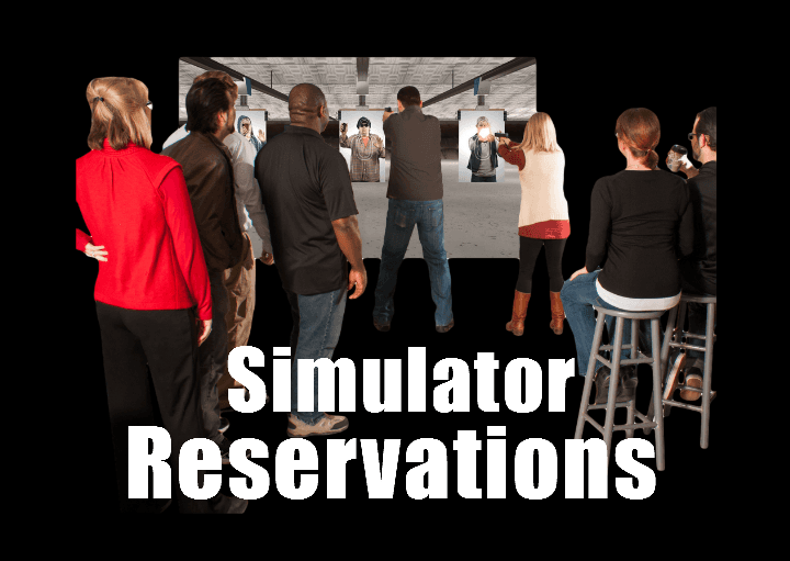 Firearms Simulator Reservations