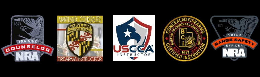 NRA and Firearm Certification Patches