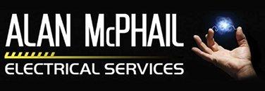 alan mcphail electrical services business logo