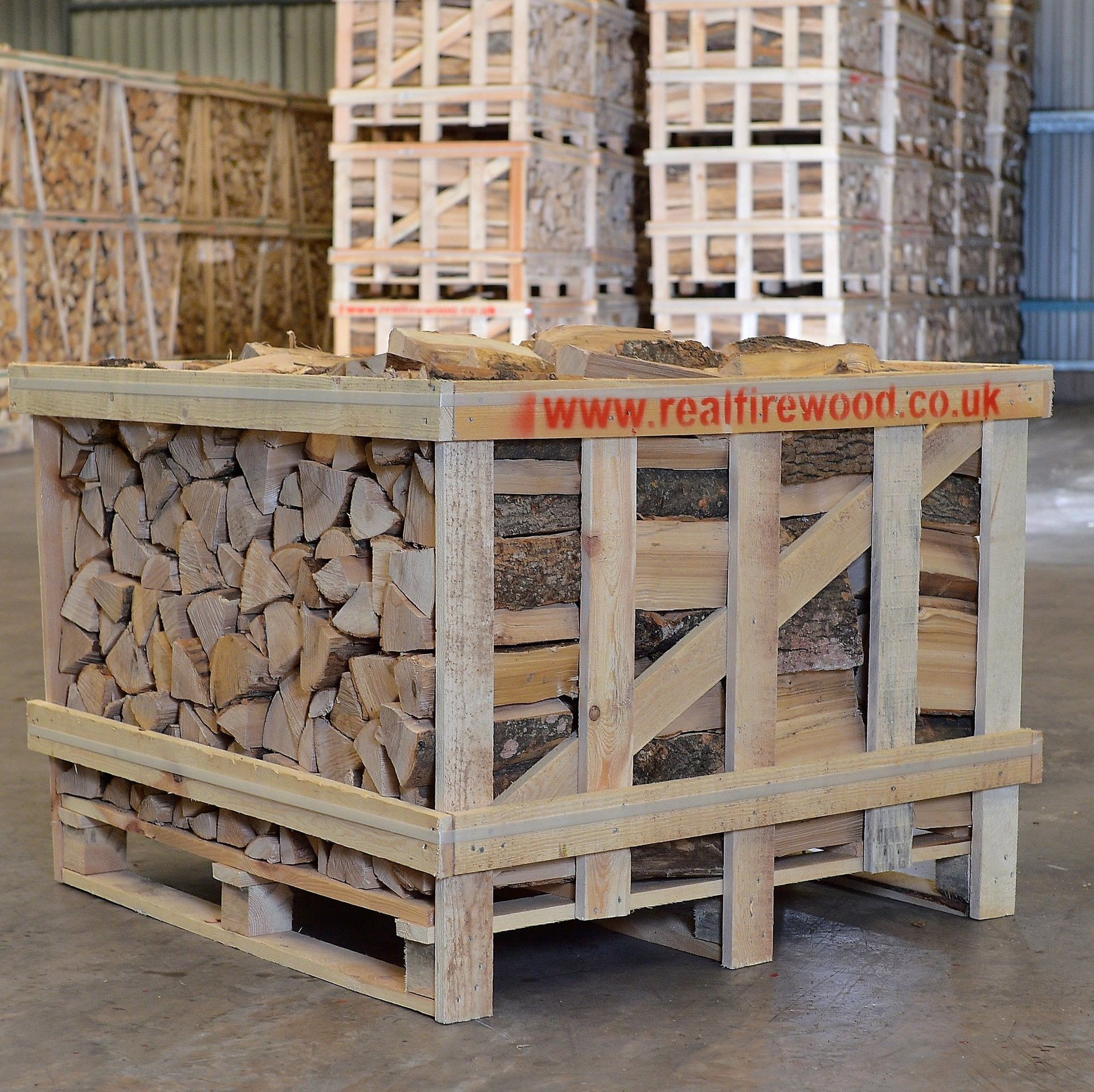 The real firewood company products