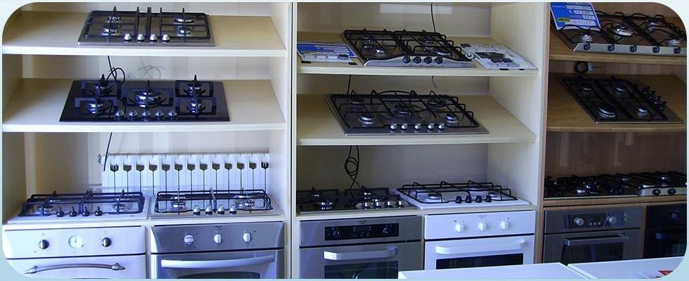 vendita piani cottura, cucine a gas, cucine elettriche, piani cottura e cucine ad induzione, Rieti