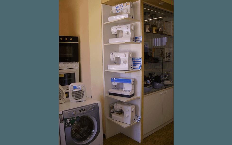 macchine da cucire, vendita macchine da cucire, vendita elettrodomestici, Aldo Dionisi, Dionisi Aldo Elettrodomestici, Rieti