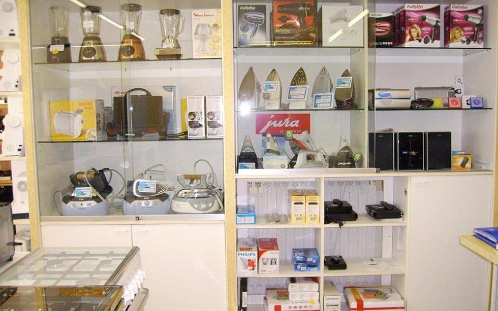 vendita piccoli elettrodomestici, piccoli elettrodomestici, macchine da cucire, vendita ferro da stiro, vendita elettrodomestici, Aldo Dionisi, Dionisi Aldo Elettrodomestici, Rieti