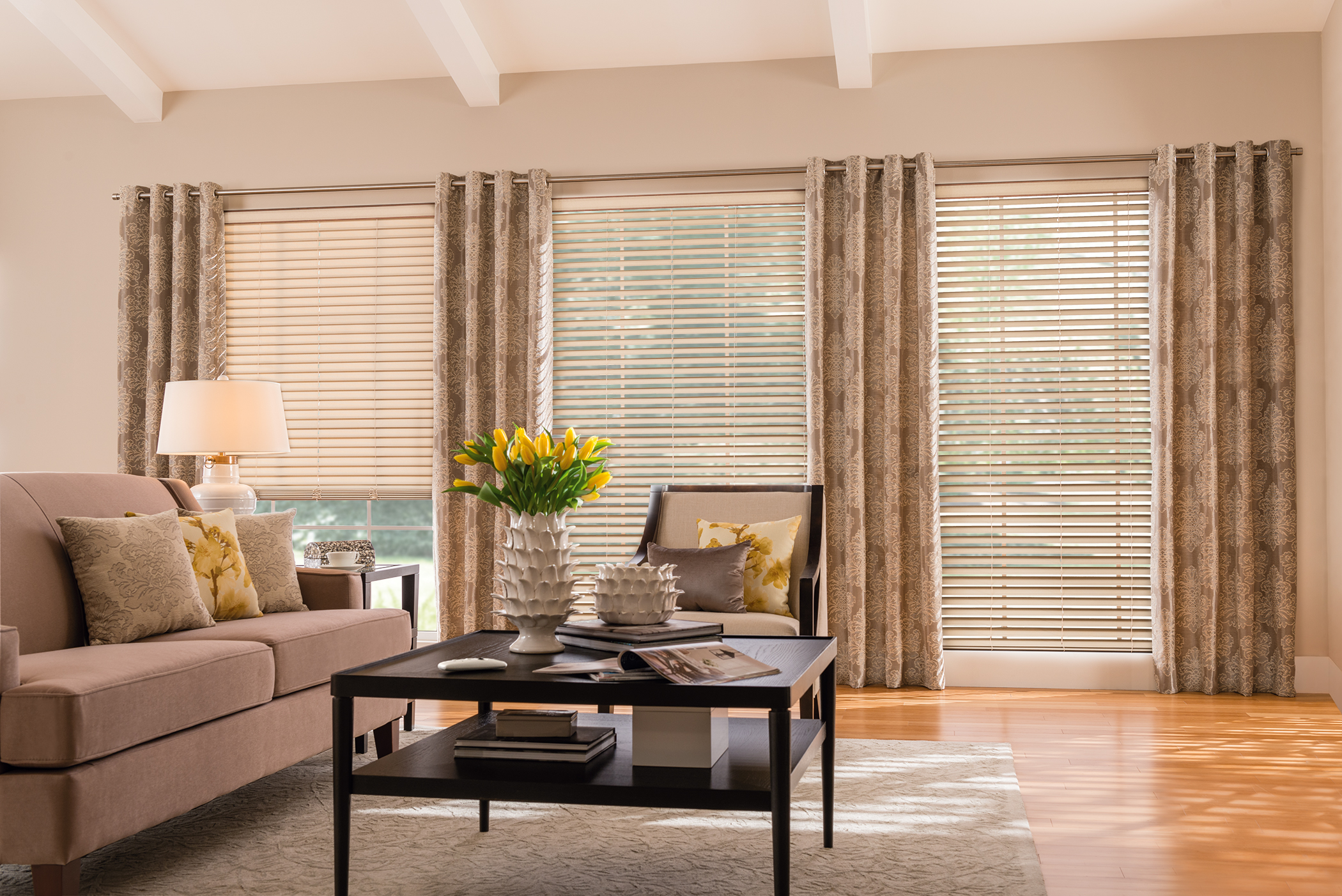 fabric blinds gallery