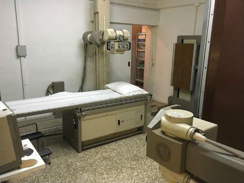 Apparato di mammografia digitale.