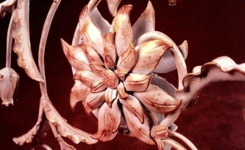 fiore in ferro battuto