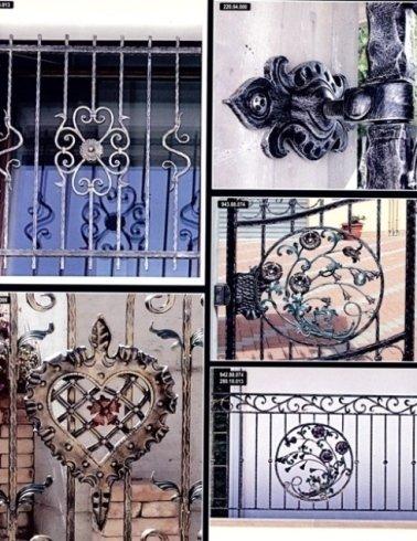 Cancelli e ringhiere in ferro battuto