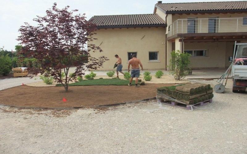 Accessori e materiali per giardino treviso vivaio for Tappeto erboso a rotoli