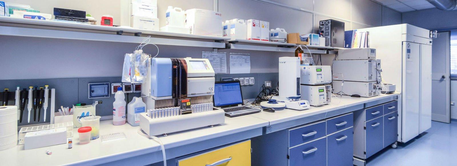 Interno dei laboratori