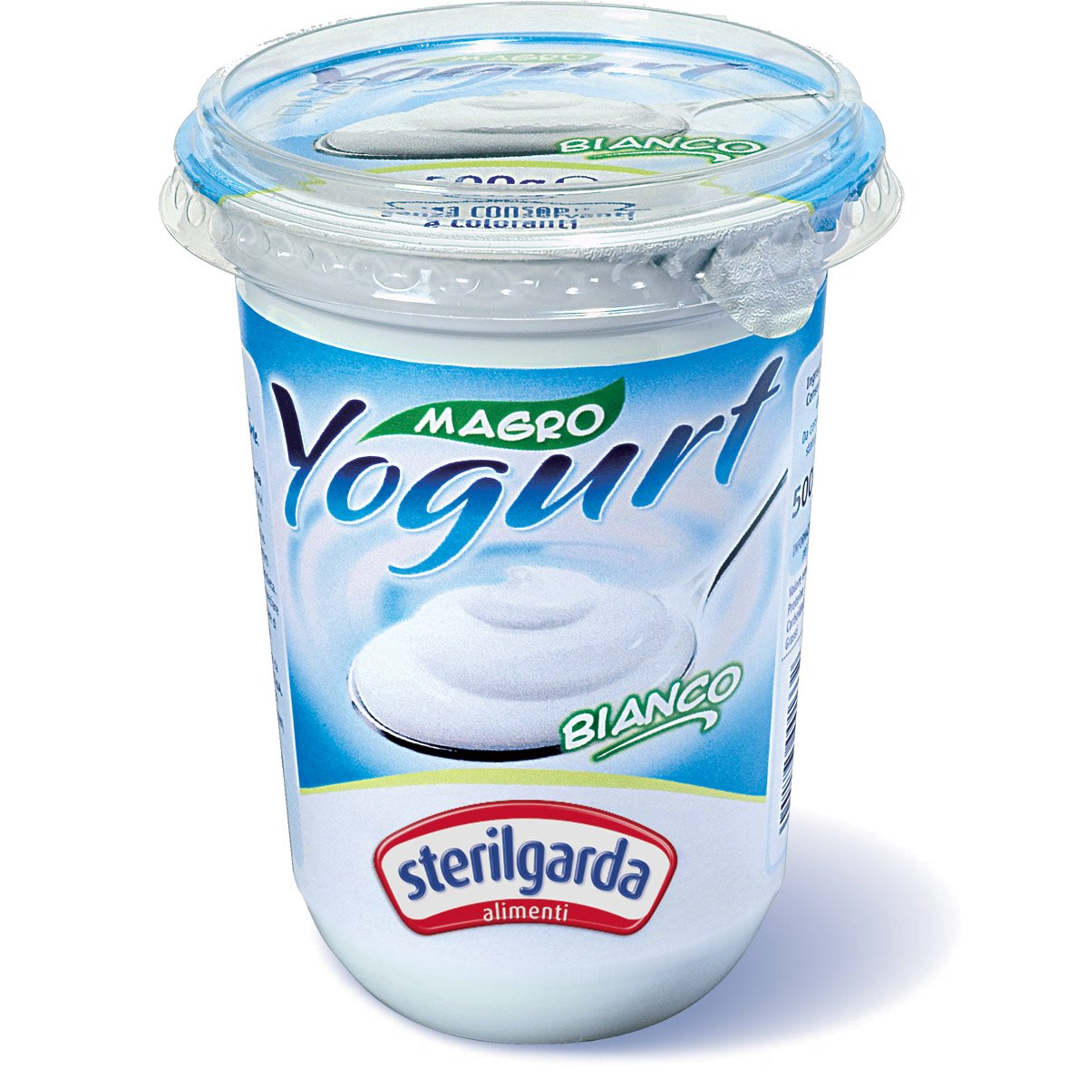 Confezione di yogurt bianco magro